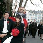 Eine Hochzeit in Köln