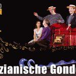Top-Animation: (fahrende!) Venezianische Gondolieri
