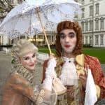 Der Comte mit seiner Comtess